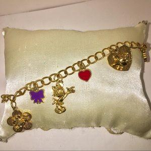 Girls Disney Minnie Best Friends Charm Bracelet